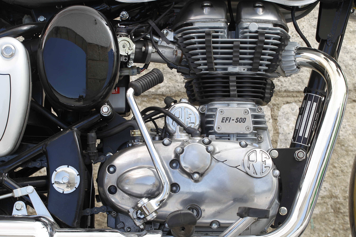 Classic detalle motor
