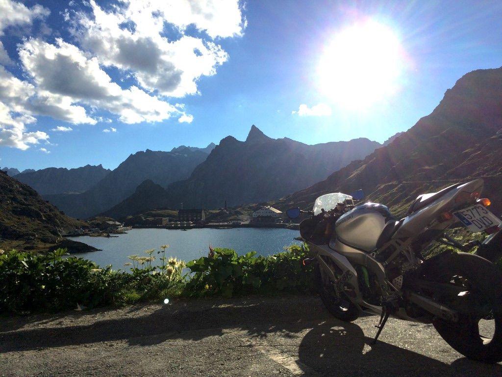 Puertos Alpes Viaje moto
