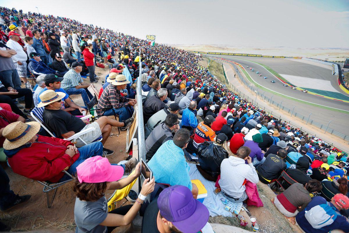 cómo ir al Gran Premio Movistar de Aragón