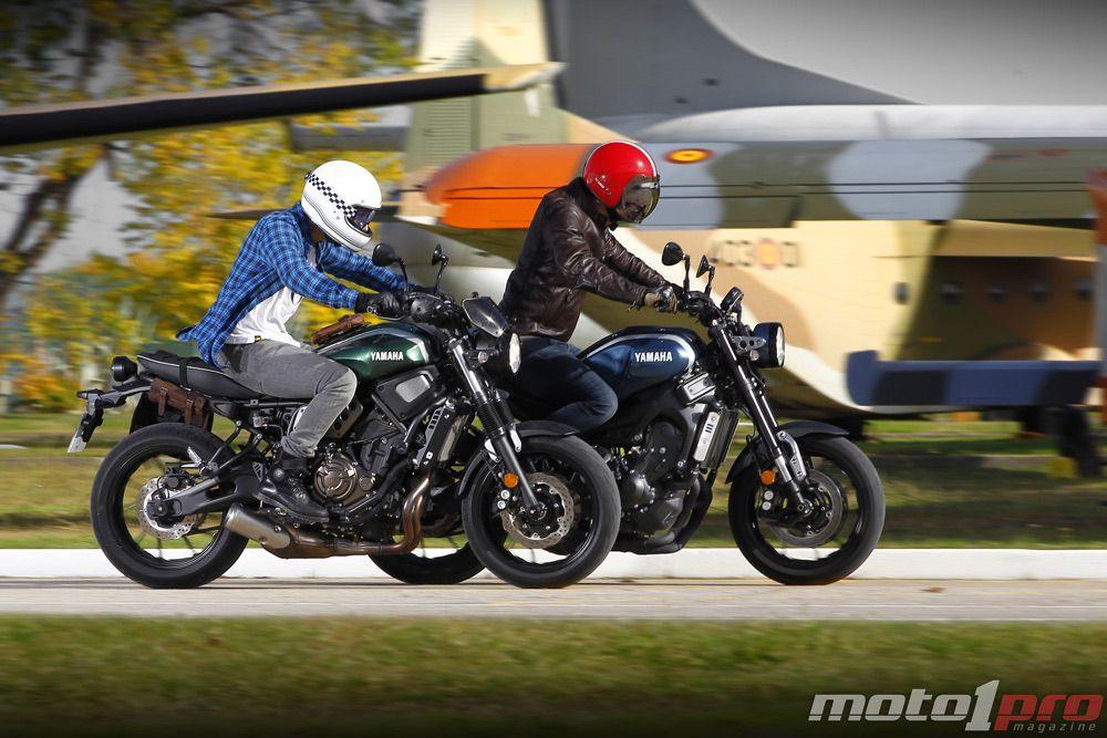 Comparativa Yamaha XSR 700 XSR 900