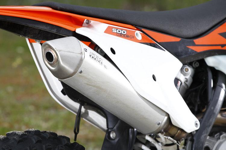 COMPARATIVA:  KTM 450 EXC VS 500 EXC