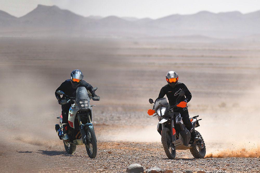 Comparativa KTM - Yamaha