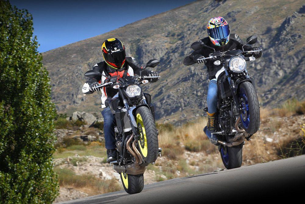 Comparativa Yamaha MT-07 vs Suzuki SV650