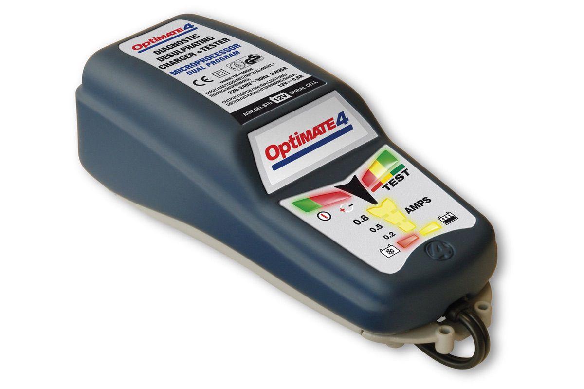 Cargador electrónico de batería de moto
