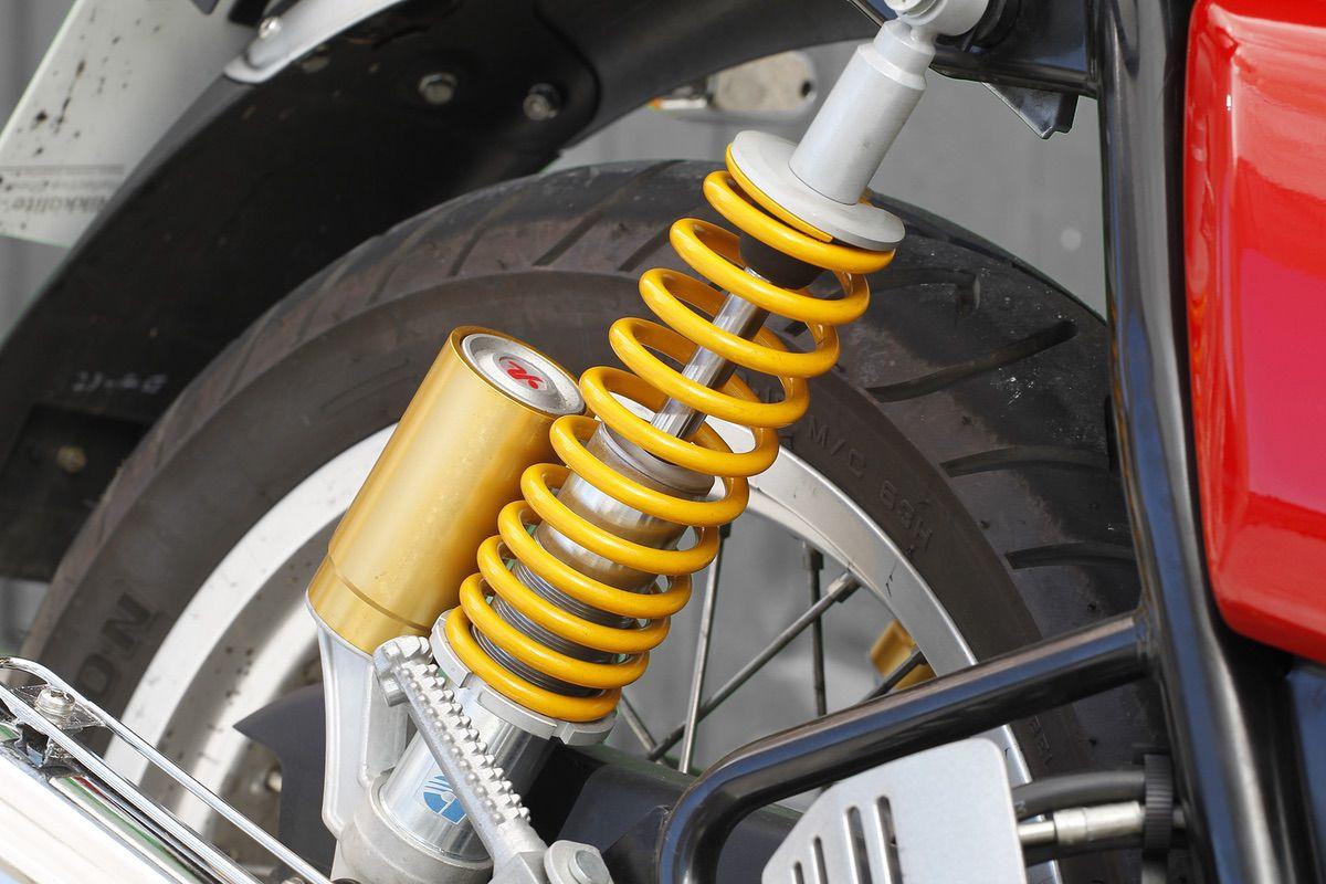 Continental detalle suspensiones