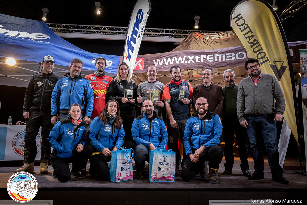 1ª prueba Copa de España Mototurismo Adventure 2019