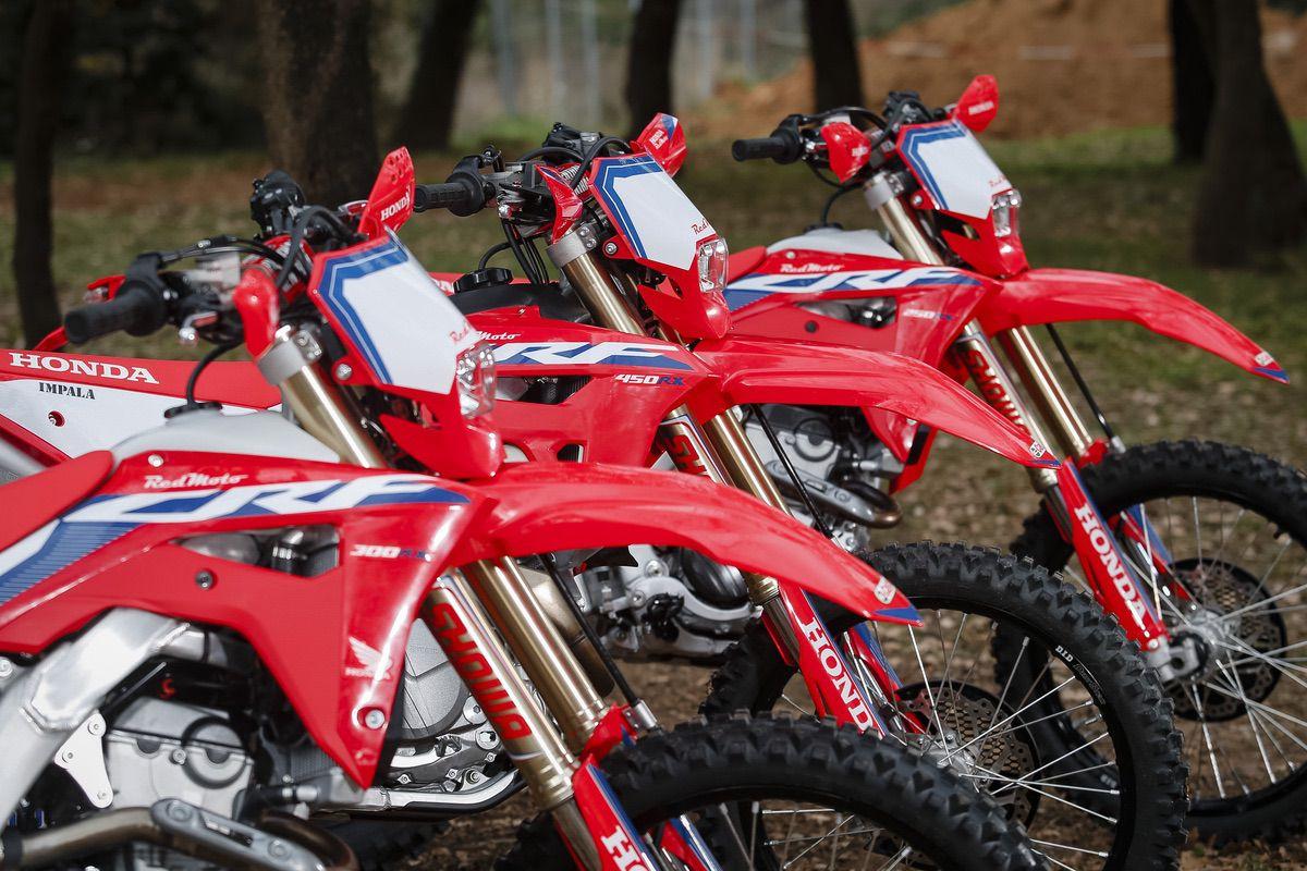 Prueba Honda CRF 250, 300 y 450 RX Redmoto: Enduro 5 estrellas