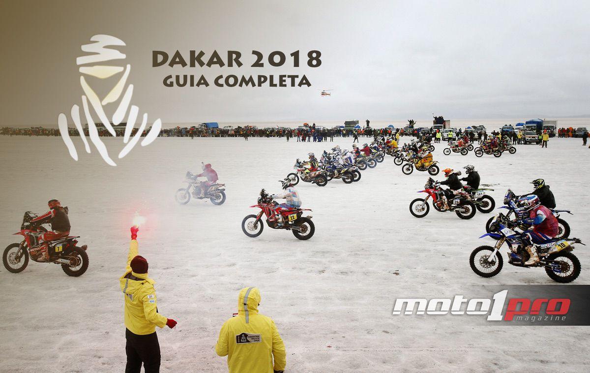 Dakar 2018 pilotos motos equipos