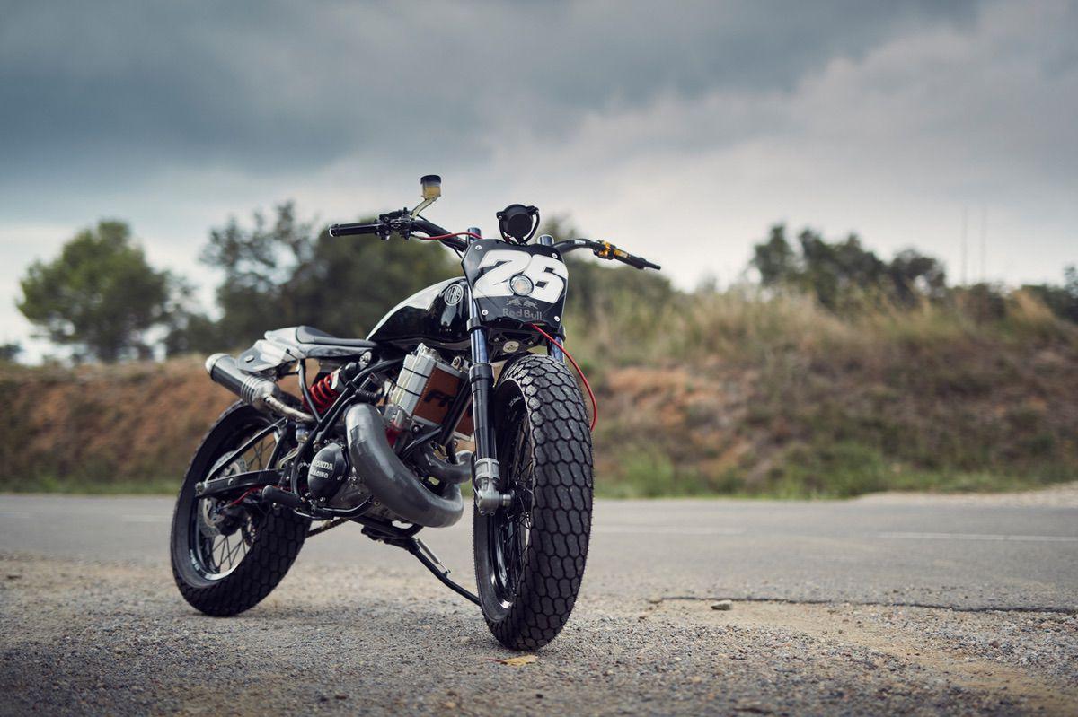Esta es la moto que Deus Ex Machina preparó para Dani Pedrosa