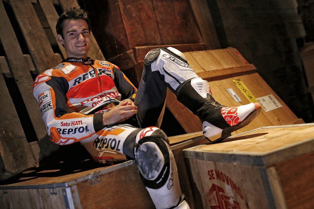 Dani Pedrosa, antes del inicio del Mundial de MotoGP 2017