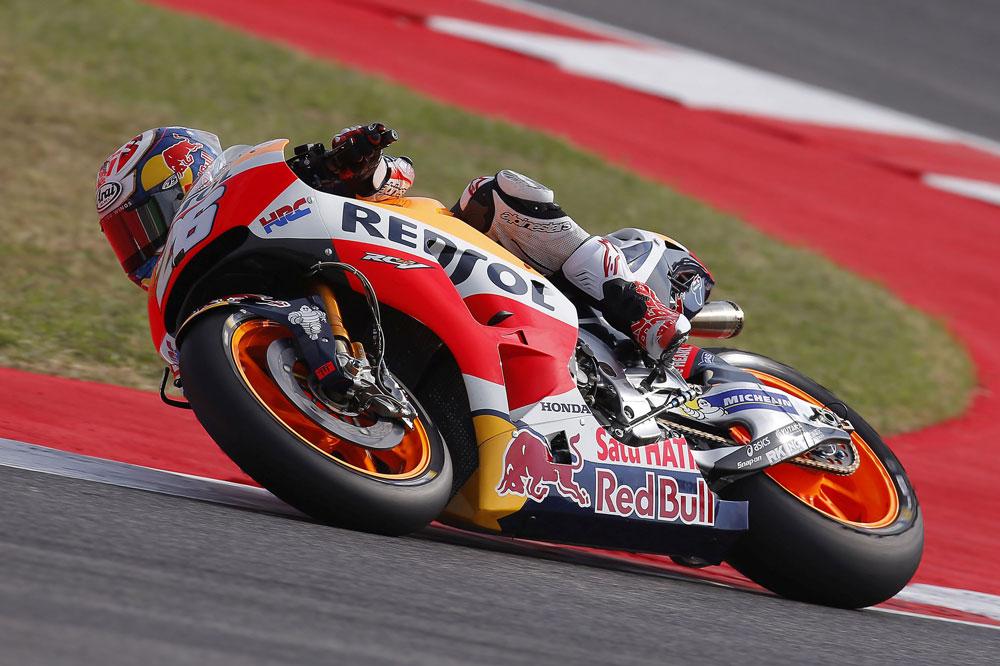 Victoria de Dani Pedrosa en MotoGP en el Gran Premio de San Marino