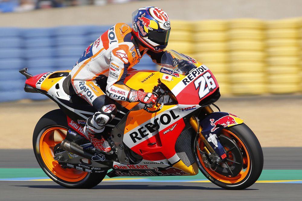 Dani Pedrosa renueva por Honda