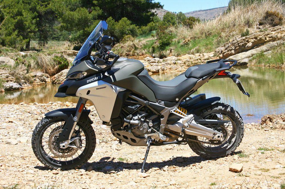 Depósito de la Ducati Multistrada Enduro