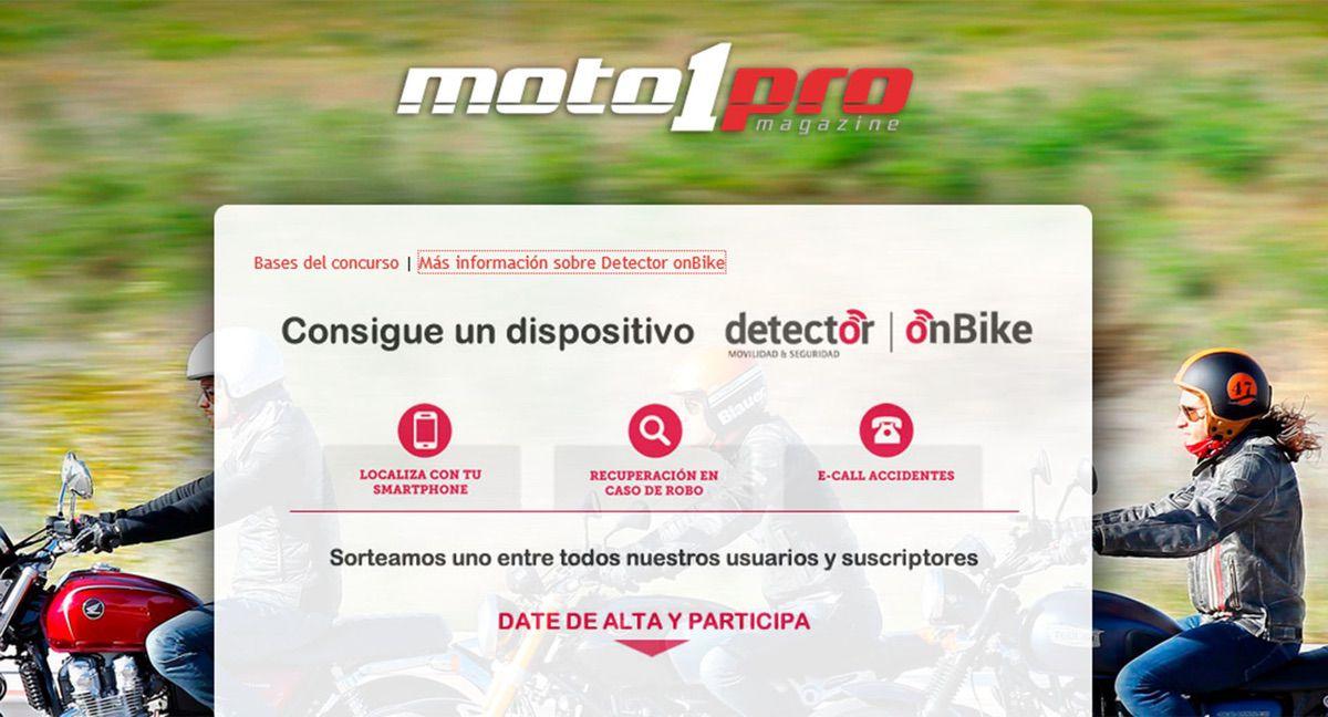 Sorteo OnBike Moto1Pro