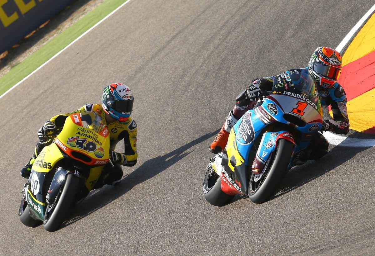 Tito Rabat y Álex Rins en Motorland