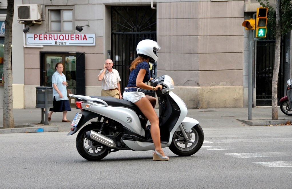 tacones moto