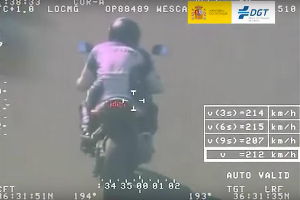 DGT Foto radar moto