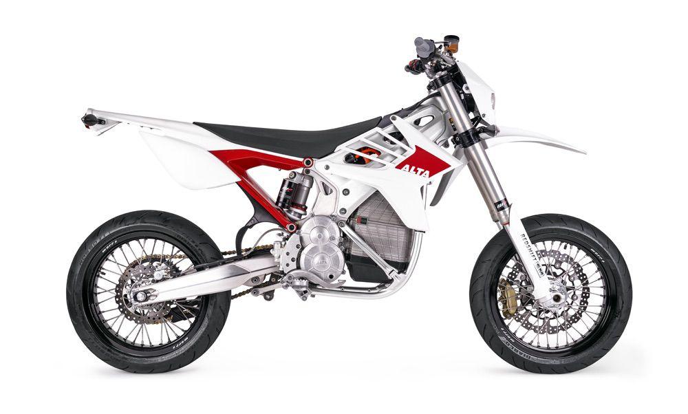 Diseño Alta Motors Redshift SM