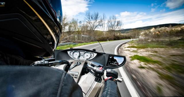 Distracciones en moto