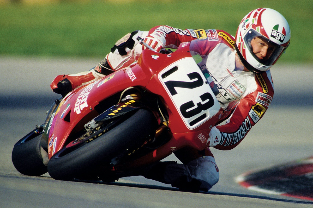 Doug Polen con Ducati
