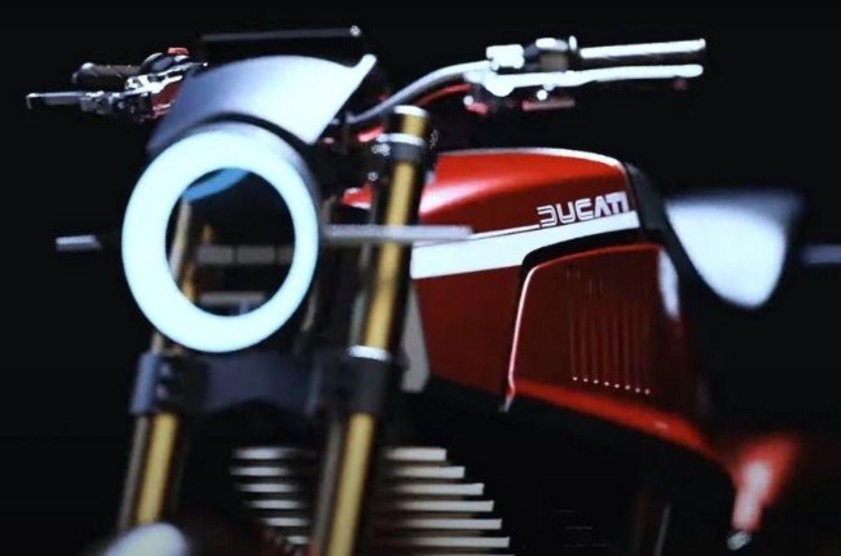 ¿Una Ducati eléctrica? Este diseño podría hacerse realidad
