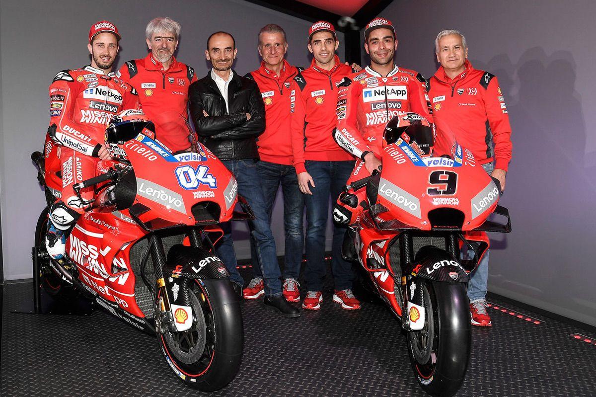 Equipo Ducati MotoGP 2019
