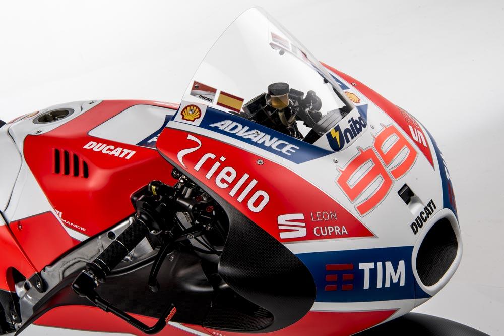 Ducati Desmosecidi GP07 2017 MotoGP Jorge Lorenzo