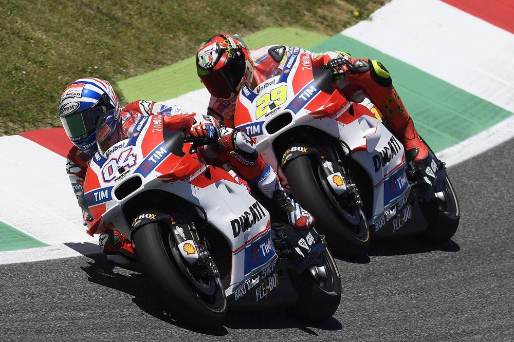 Ducati durante el GP de Italia de MotoGP