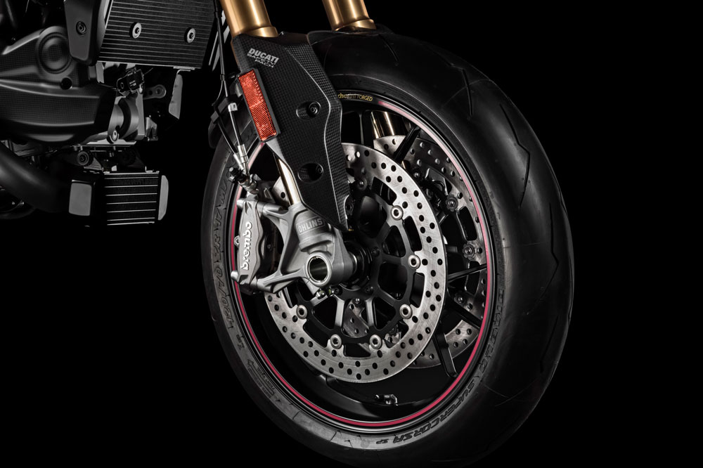 Disco delantero de la Ducati Hypermotard SP