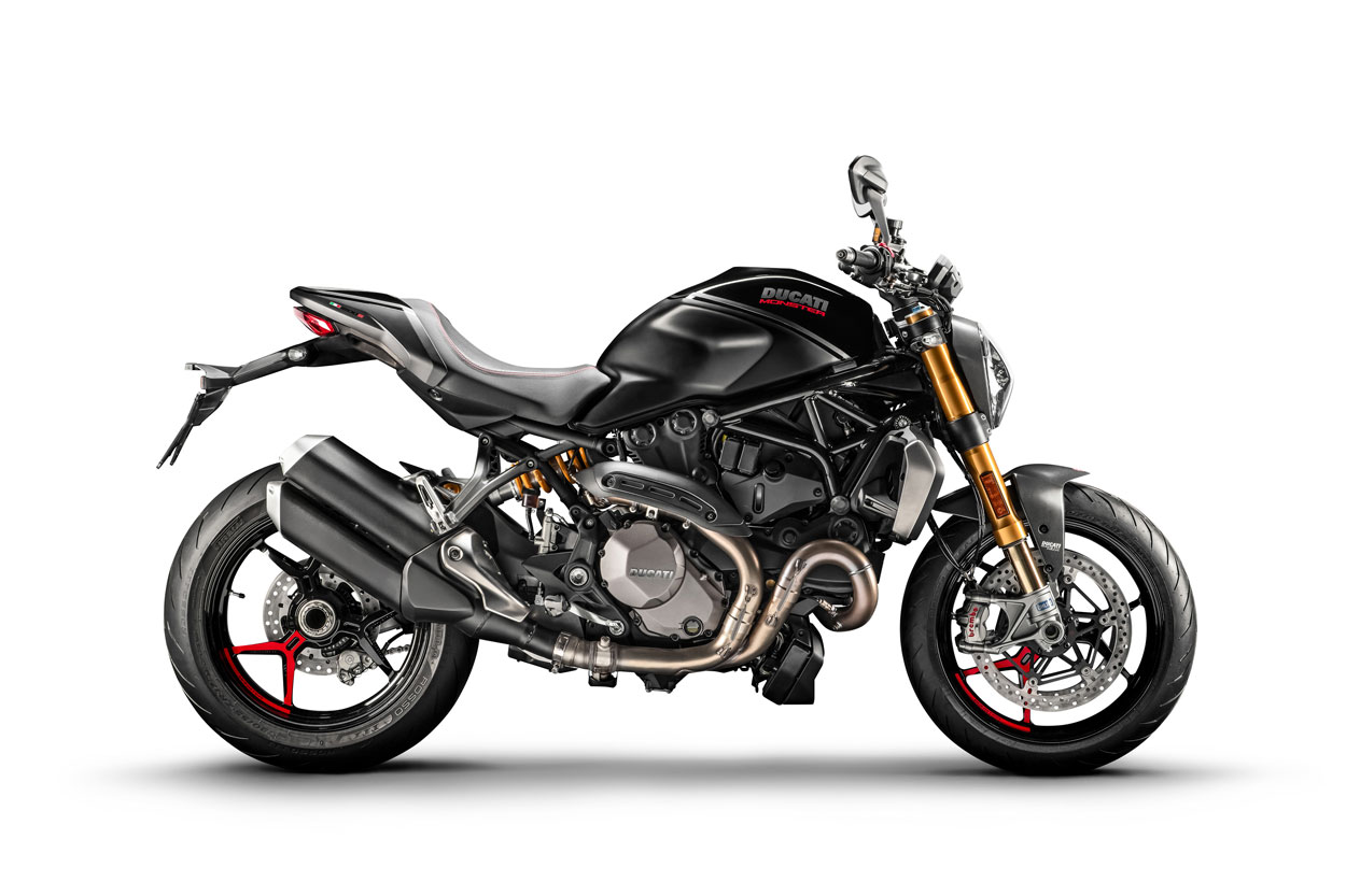 Ducati Monster 1200 S Black to Black