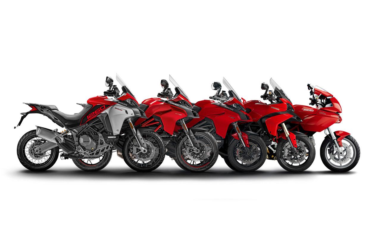 Todas las versiones de la Ducati Multistrada