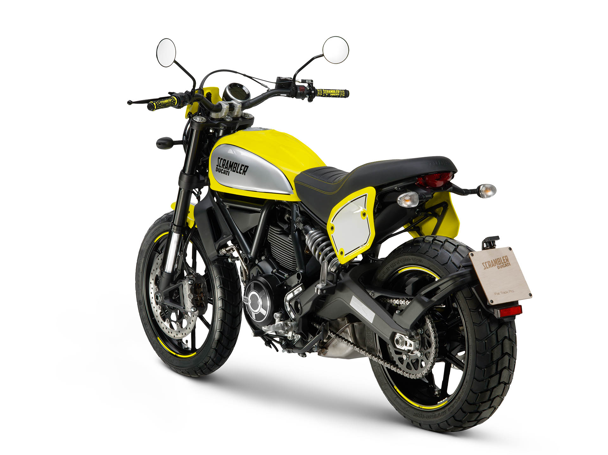 Ducati Scrambler Flat Track Pro 2016