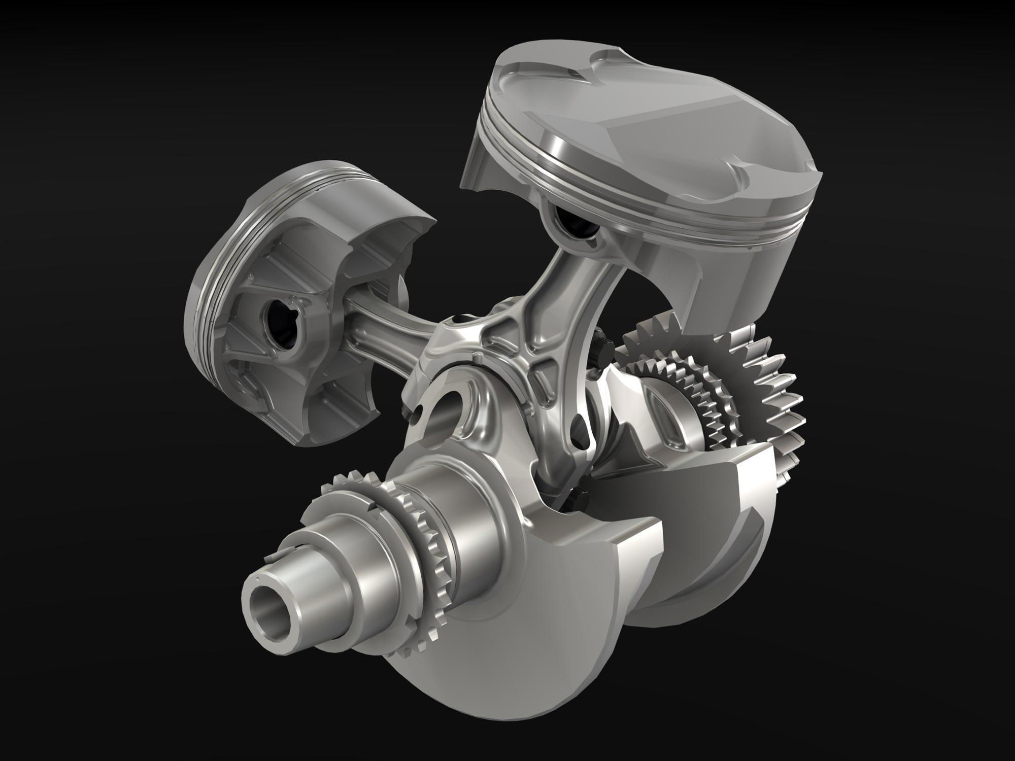 Motor Ducati Superquadro