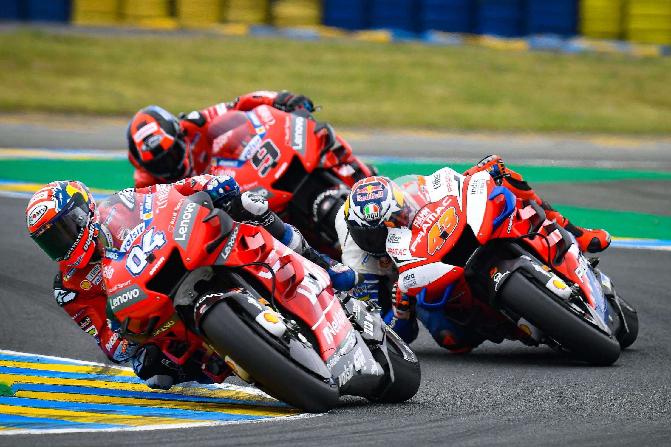 Ducati enfila Le Mans con optimismo justificado