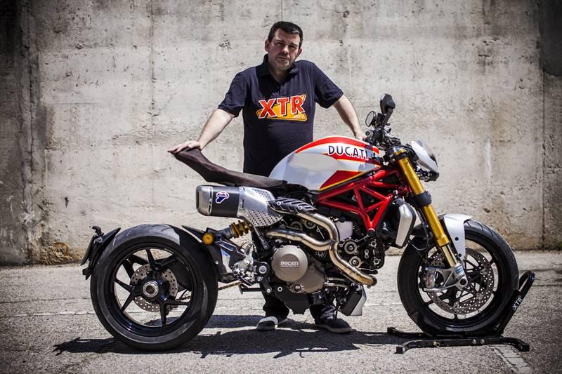 Ducati Monster 1200 S Siluro XTR Pepo