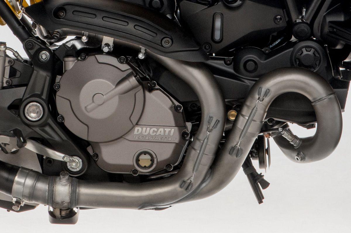 Ducati Monster 821 motor testastretta 11 grados