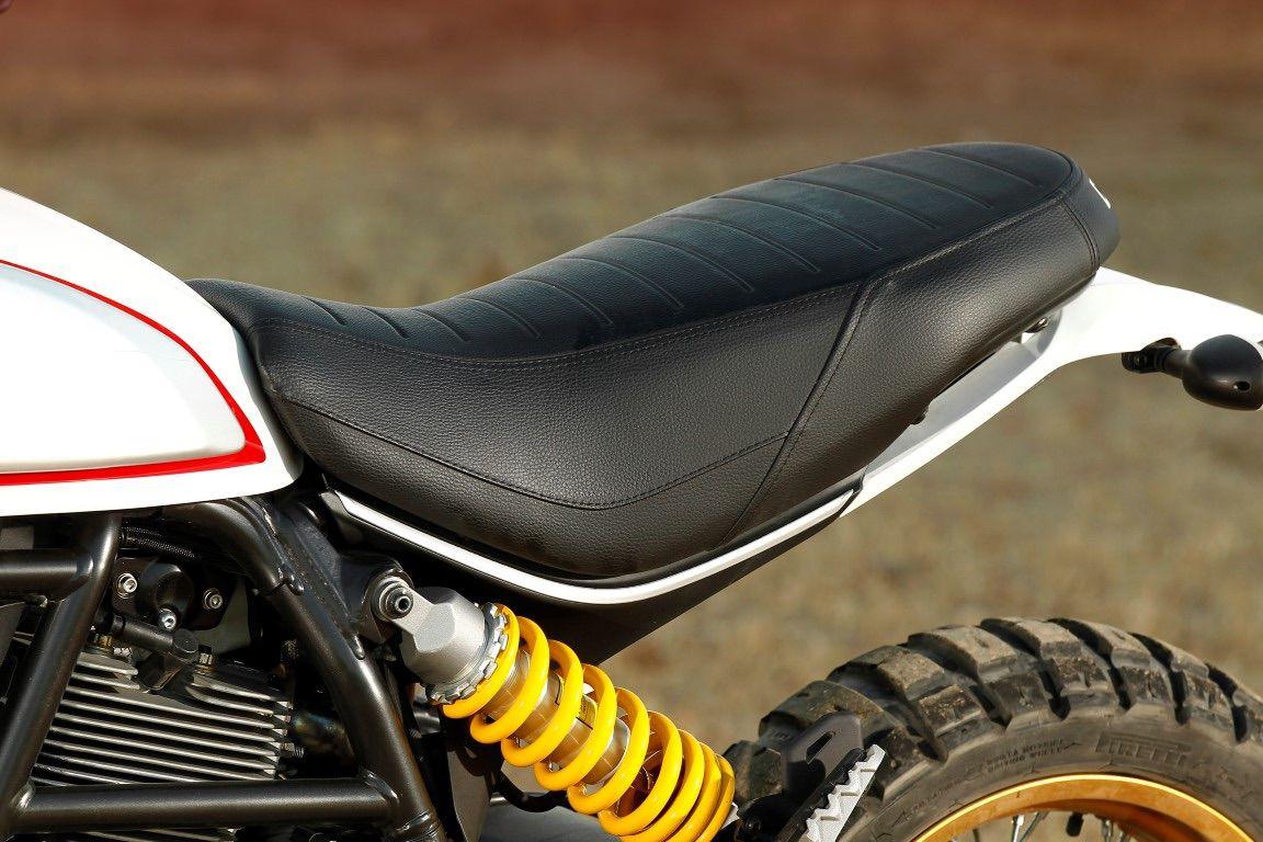 Ducati Scrambler asiento