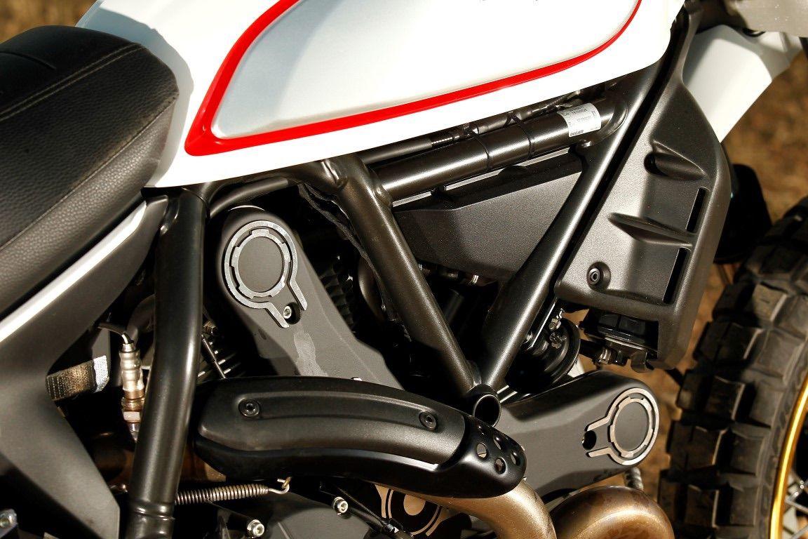 Ducati scrambler chasis