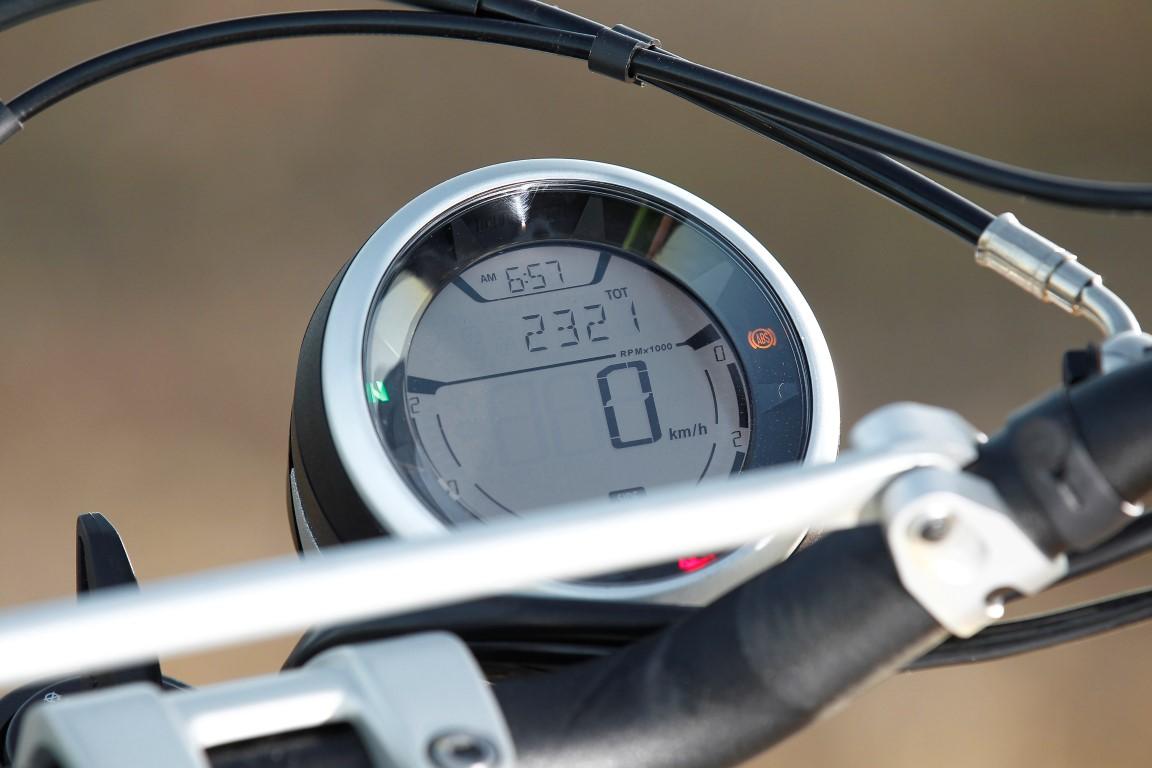 Ducati Scrambler cuadro