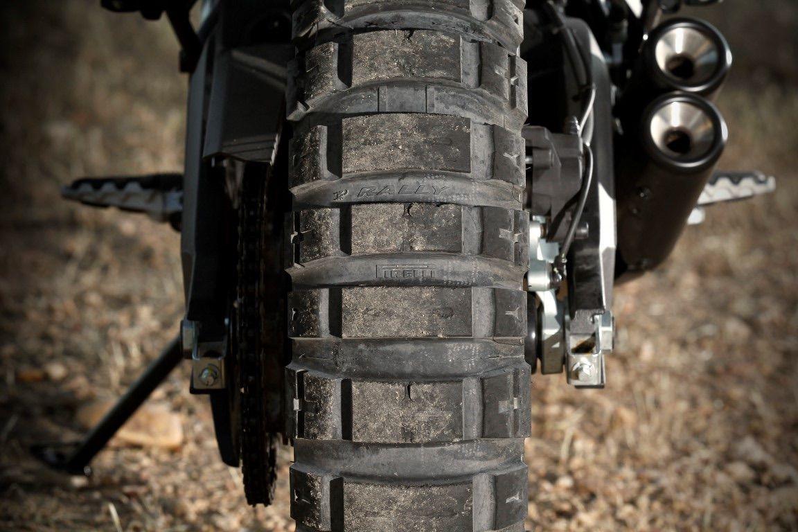 Ducati Scrambler neumático