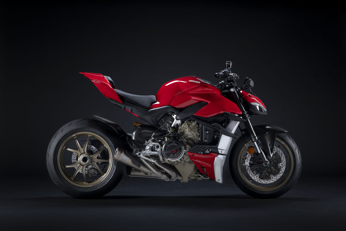 Ducati Streetfighter V4 performance