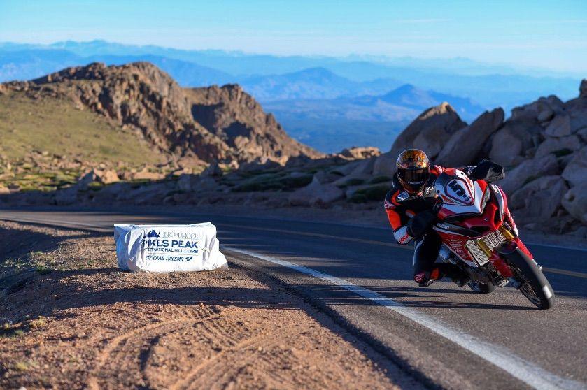 Carlin Dunne Pikes Peak 2018 Ducati Multistrada 1260