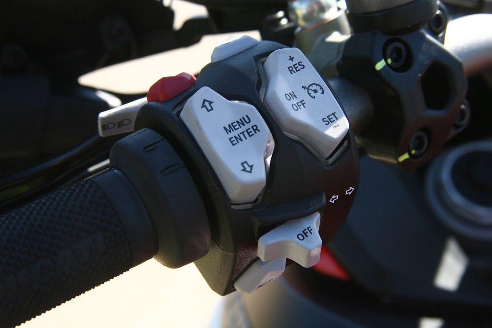 Electrónica de la Ducati Multistrada Enduro