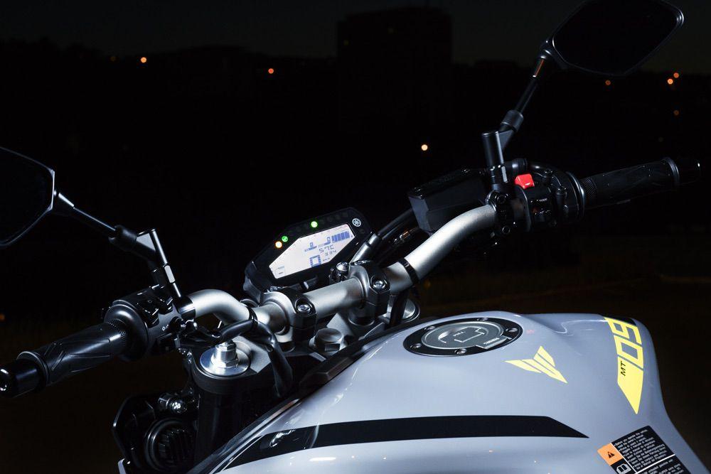 Electrónica Yamaha MT09 2017