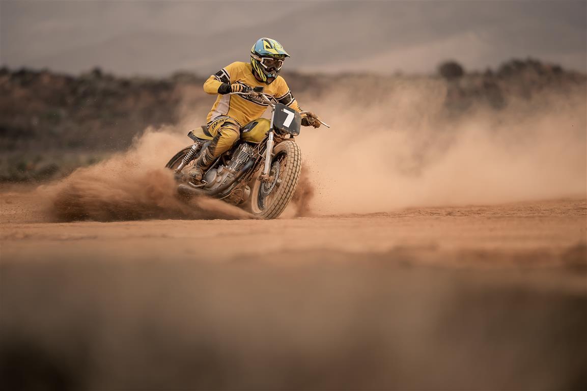 dirt track tecnica