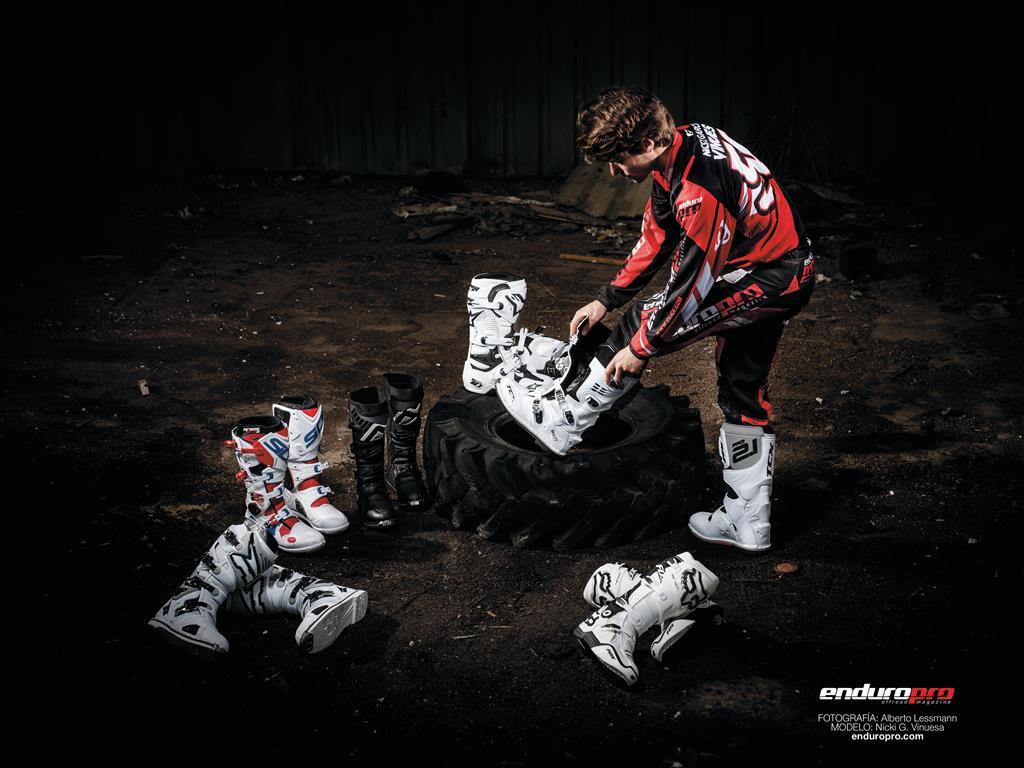 equipamiento enduro motocross