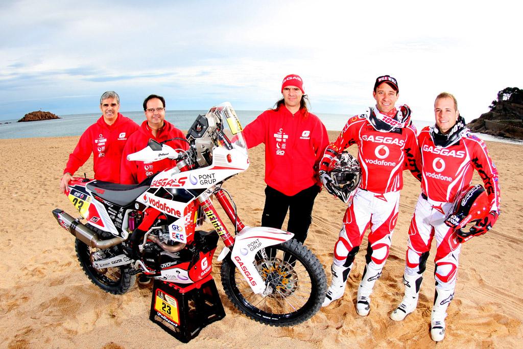 Gas Gas Dakar 2015