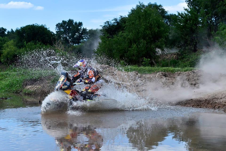 Toby Price firme en la segunda etapa del Dakar