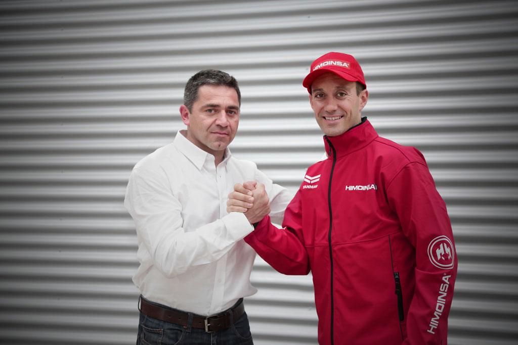 Gerard Farrés con HIMOINSA Racing Team para Dakar 2016