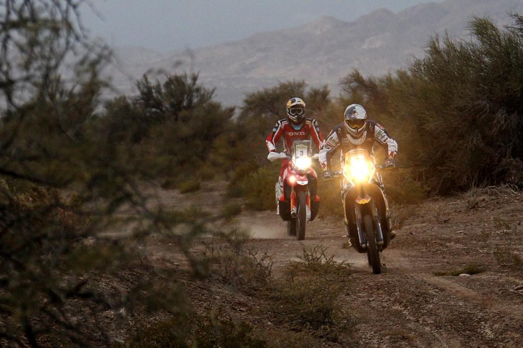 Marc Coma recupera terreno en el Desafío Ruta 40